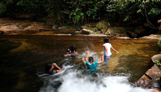 river-bathing